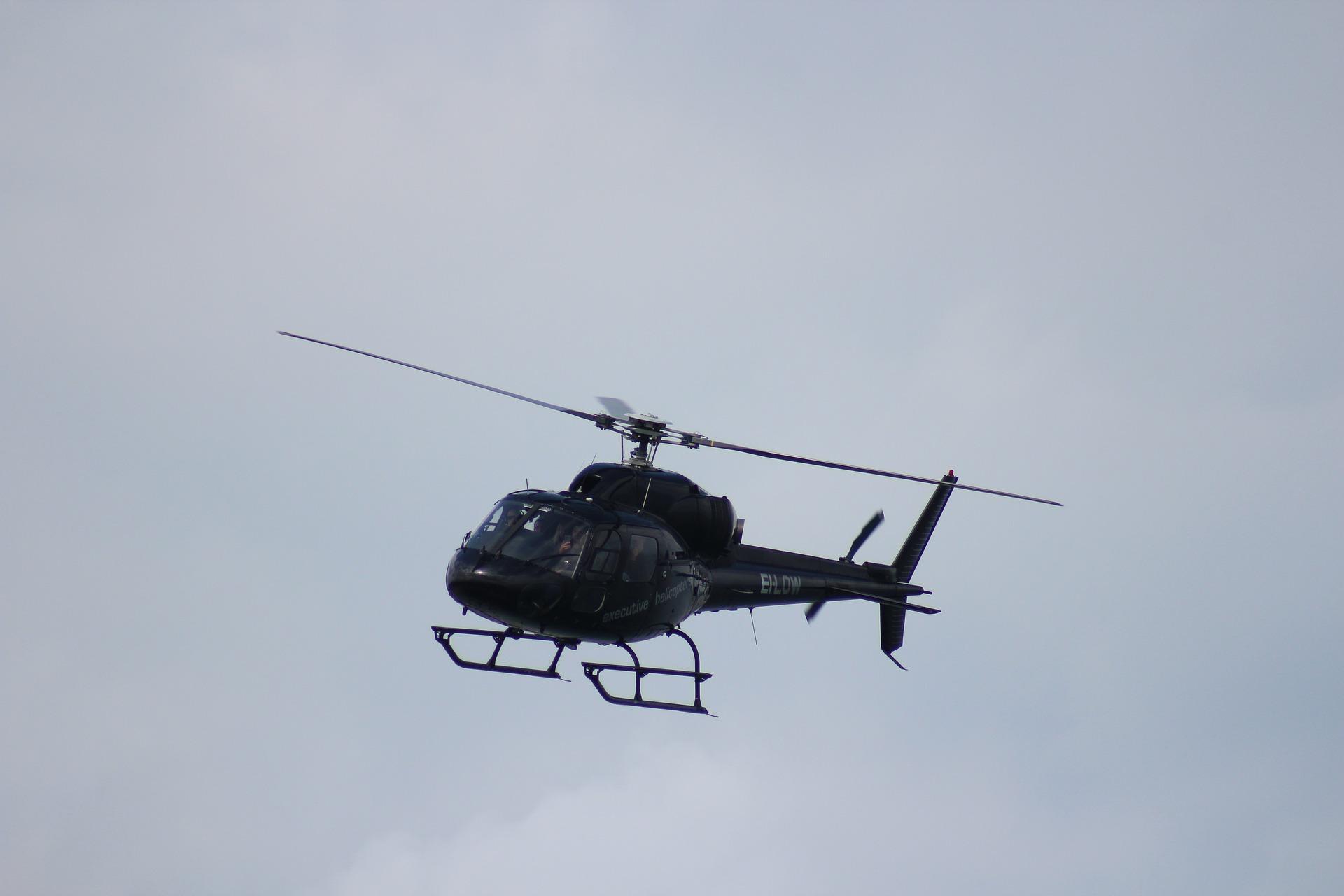 Diagnostic par hélicoptère des réseaux électriques de la commune