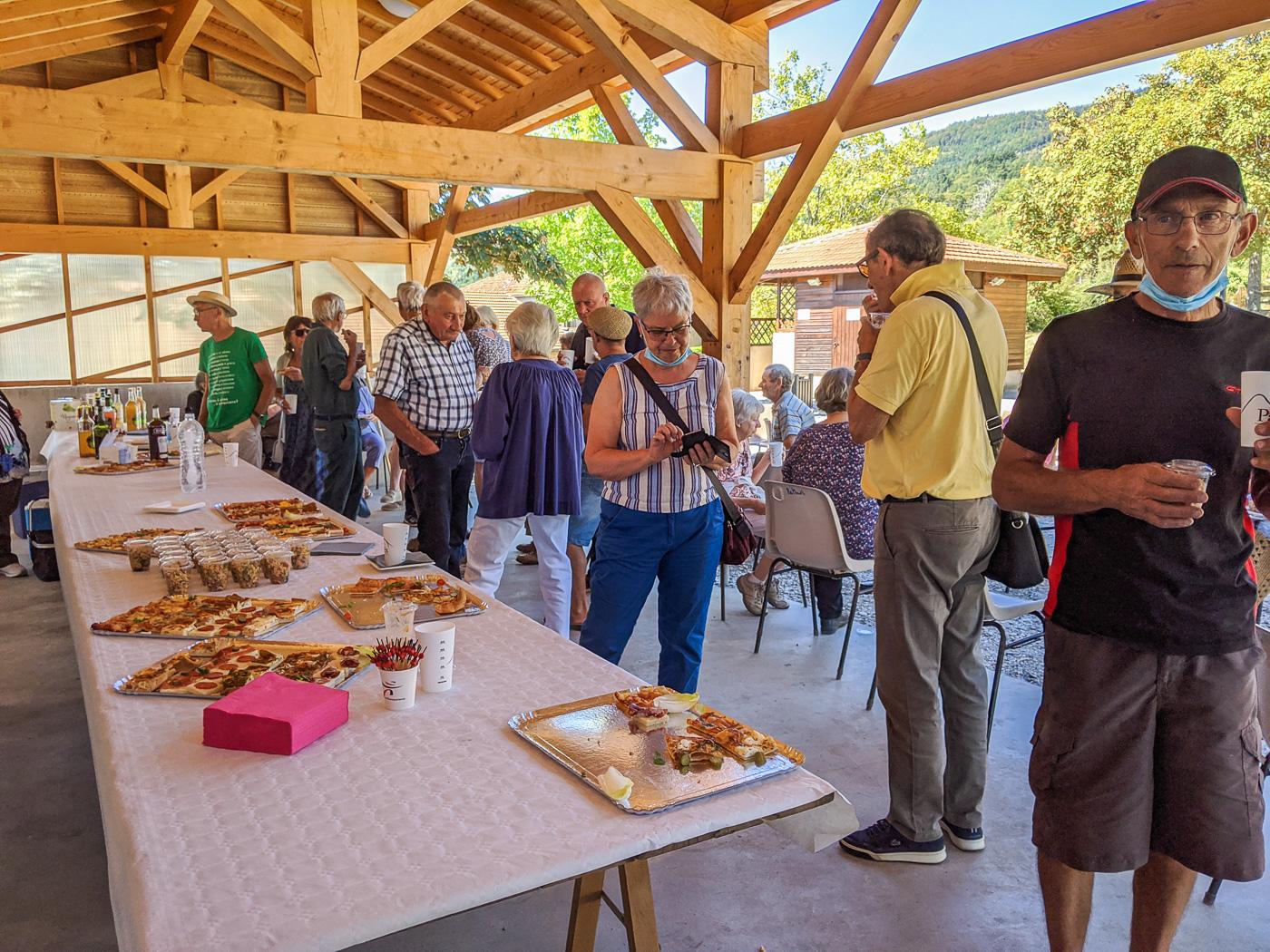 Rencontre annuelle des aînés de Pailharès