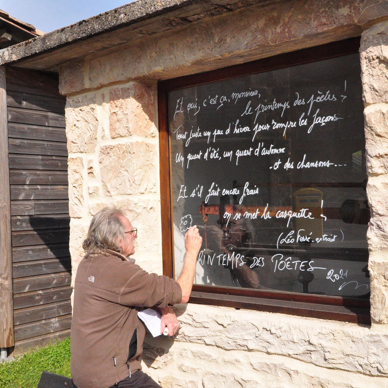 Un printemps poétique à Pailharès
